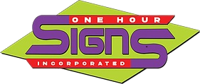 One Hour Signs logo