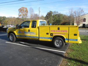 Digitally printed vehicle graphics Fire Systems (3)