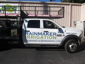 Digitally printed vehicle graphics Rainmaker Irrigation (2)