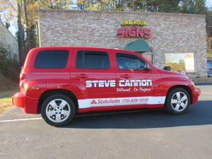 Digitally printed vehicle graphics Steve Cannon