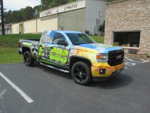 Full truck wrap Focus Pest Management (2)