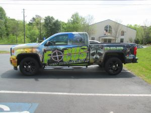 Full truck wrap Focus Pest Management