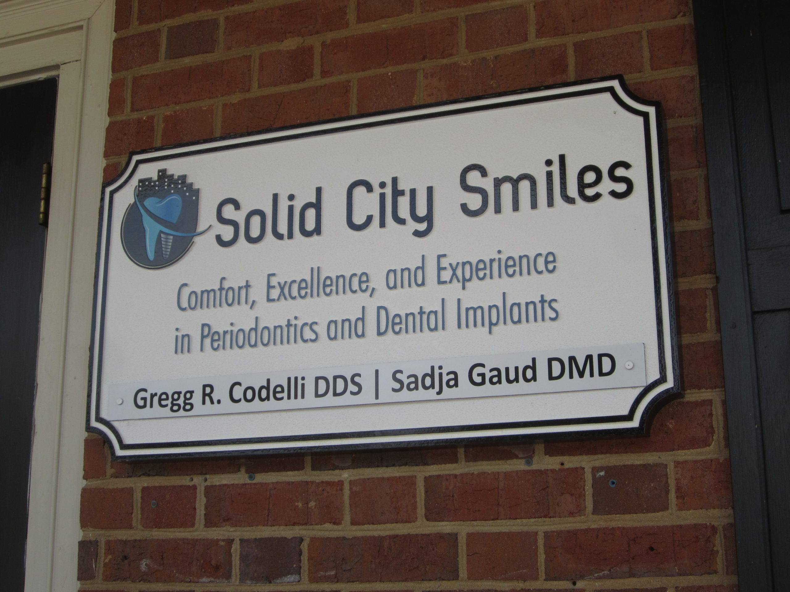 HDU suite sign