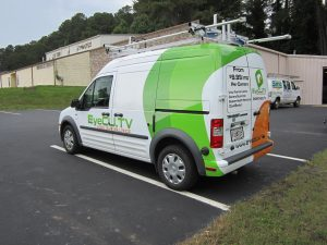 Partial van wrap Eye CU