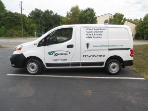 cut vinyl vehicle graphics Controlled Access