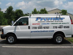 cut vinyl vehicle graphics Premier Indoor comfort