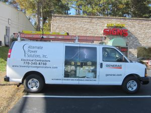cut vinyl vehicle graphics and large decal