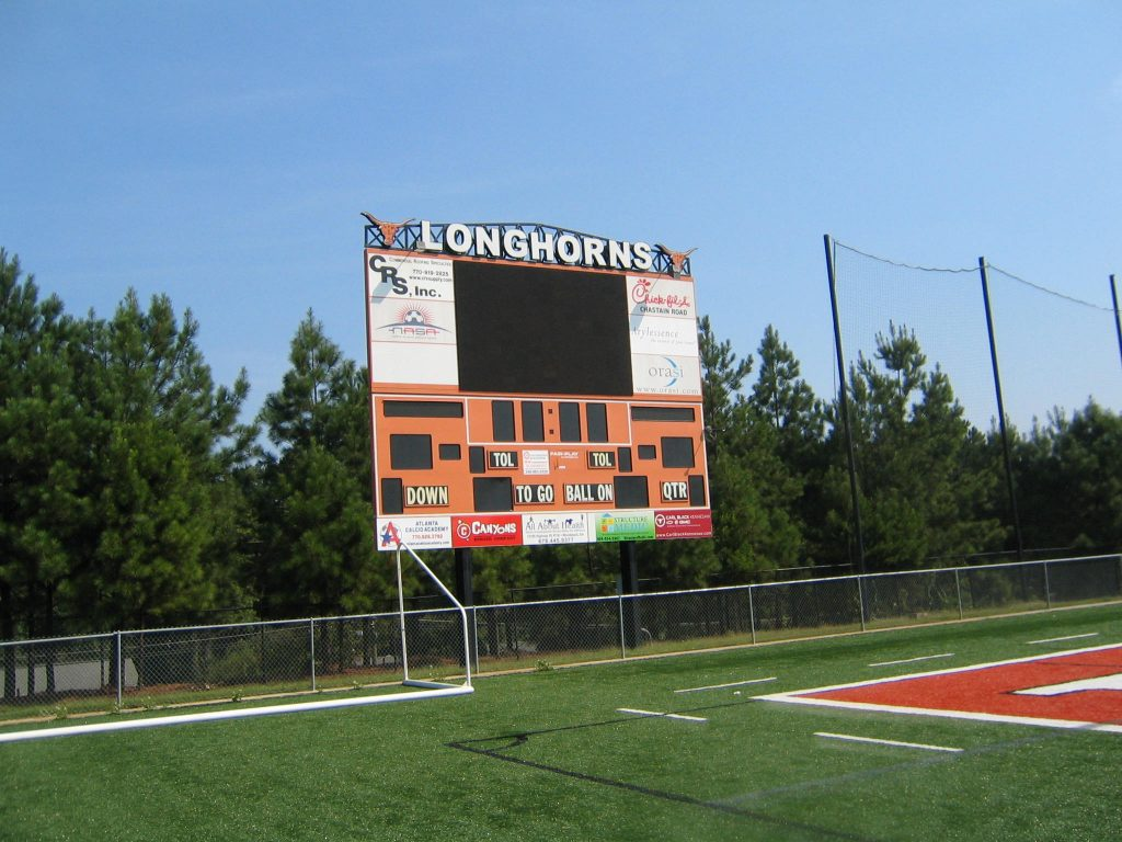 scoreboard sponsor graphics